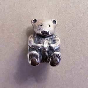 Authentic Pandora Retired Teddy Bear Charm